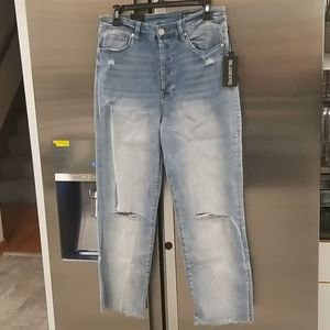 💕BLANKNYC💕 The Baxter Ribcage High Wasted Straight Leg Mom Jeans 30 NWT